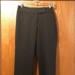 New $298 Lafayette 148 NY slim stretch gray pants